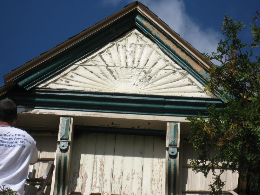 Victorian Rising Sun Gable