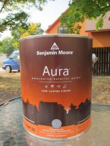Benjamin Moore's Aura ExteriorPaint
