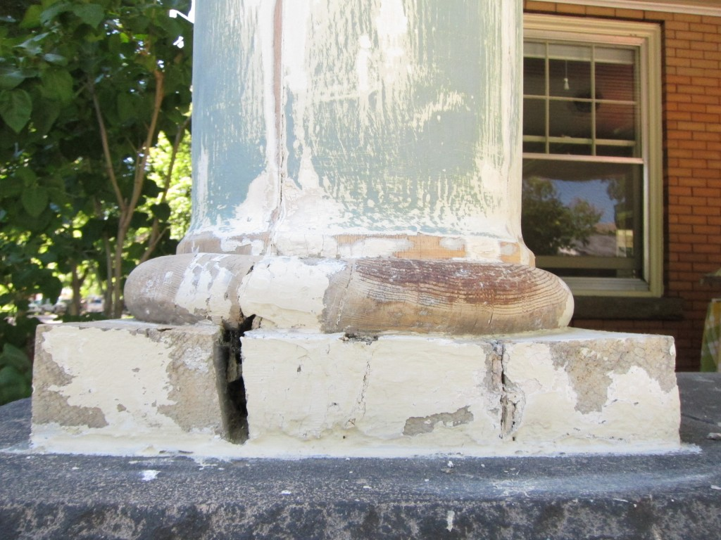 Scraped Pillar